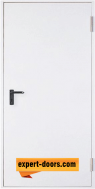 Метална пожароустойчива врата, REI 60