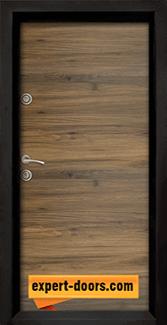 Блиндирана входна врата модел Ale Door 404 панел Napoli