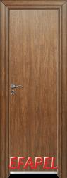 Алуминиева врата Efapel цвят Императорска акация