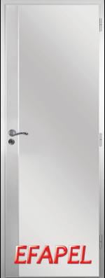 Алуминиева врата Efapel с метална лайсна