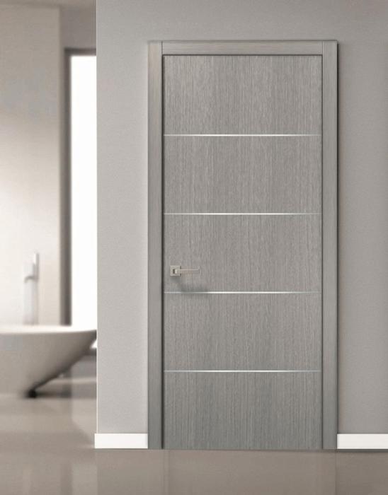 Сива модерна интериорна врата 2020