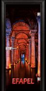 Стъклена интериорна врата Print G 13 13 Turkey M