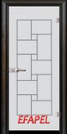 Стъклена интериорна врата Sand G 13 7 R