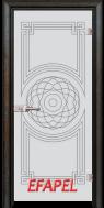 Стъклена интериорна врата Sand G 14 8 R